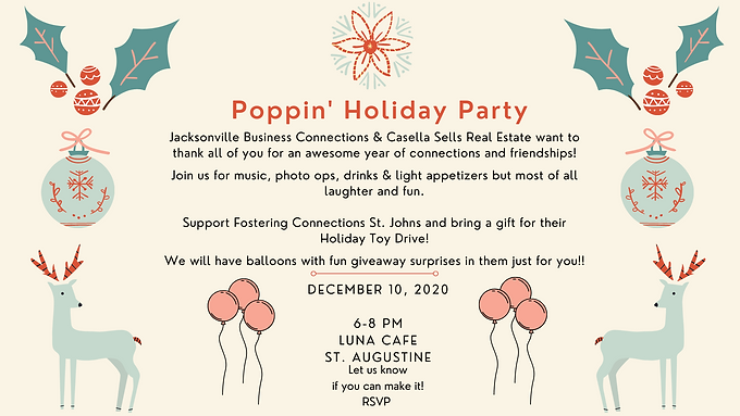 Poppin' Holiday Appreciation Party