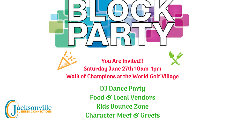 2nd Annual Community Block Party