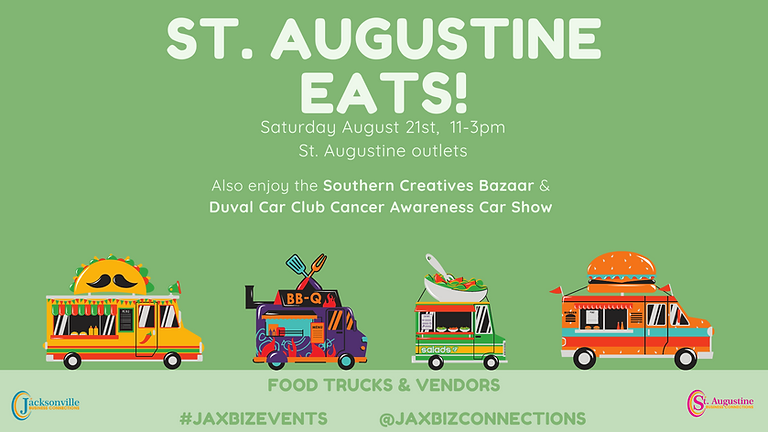 St. Augustine Eats - Food Event