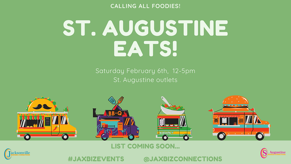 St. Augustine Eats! Vendor Application