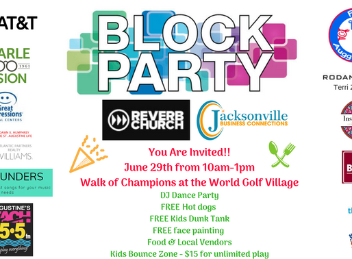 The Block Party Event You Won't Want to Miss!!