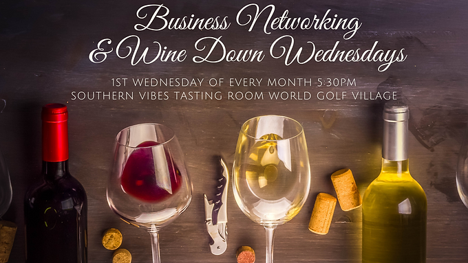 Monthly Business Networking & Wine Down Wednesday