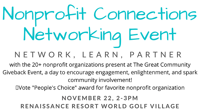 Nonprofit Connections Networking Event