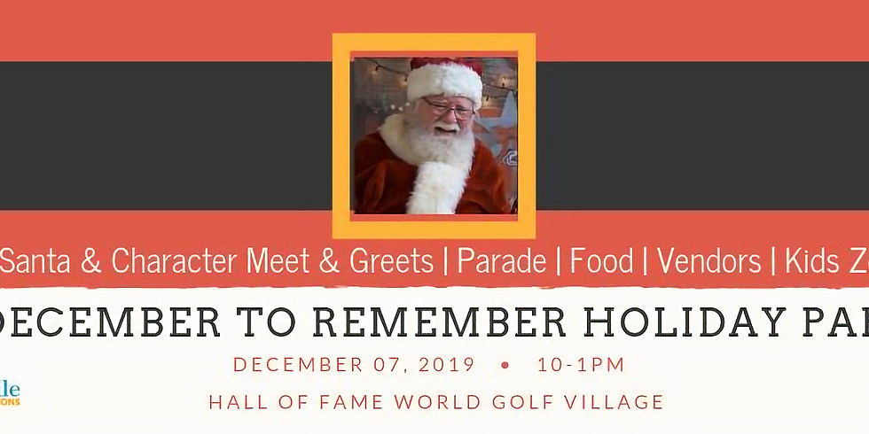 A December to Remember Holiday Party!
