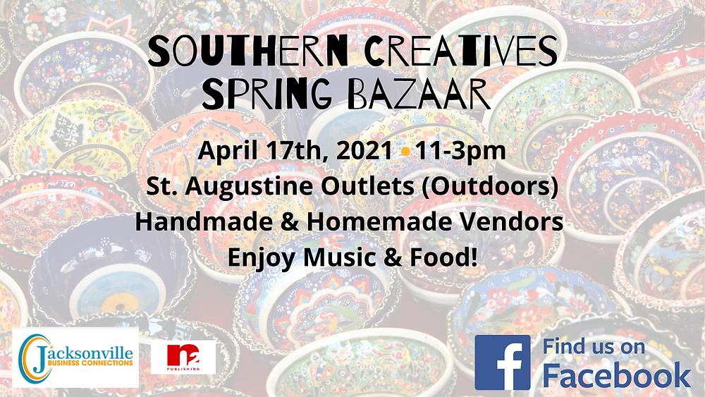 Southern Creatives Spring Bazaar Vendor Application