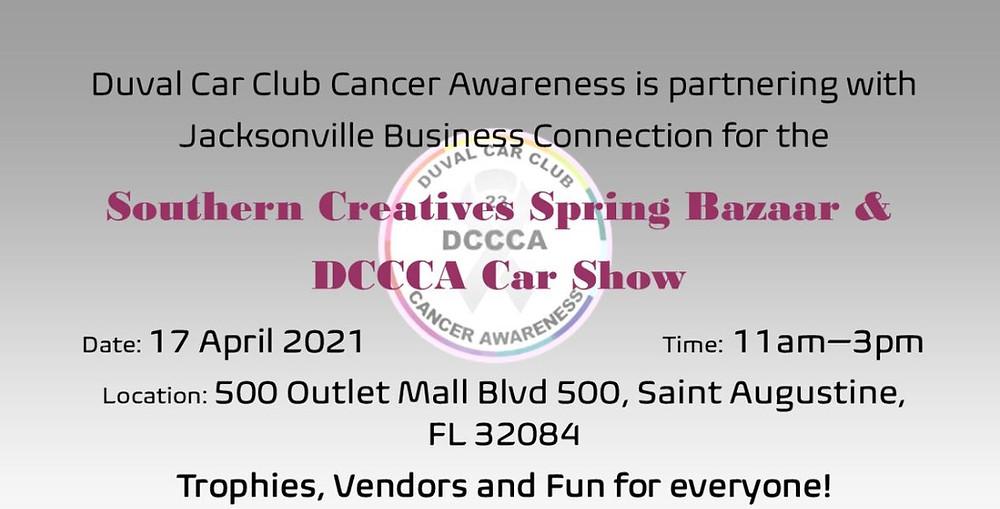 Duval Car Club Cancer Awareness Vendor Application