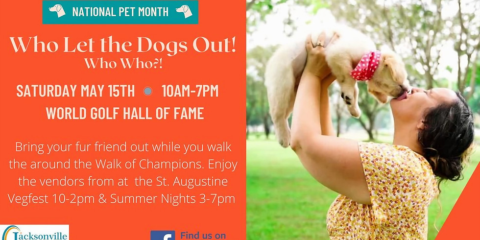 Who Let the Dogs Out! Who Who?! - Celebrating Your Dogs for National Pet Month