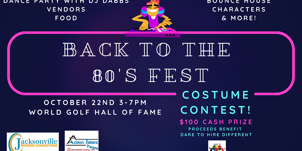 Back to the 80's Fest & Costume Contest