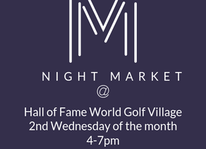 Night Market at World Golf Hall of Fame Vendor Application