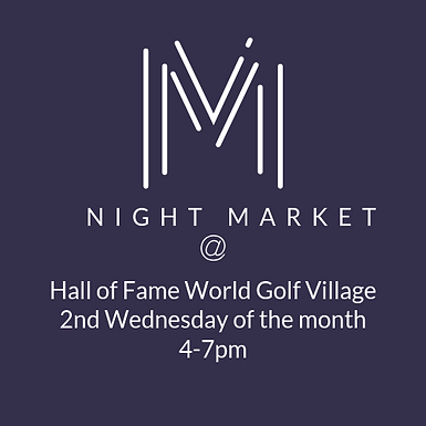 Night Market at World Golf Hall of Fame