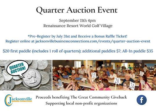 Quarter Auction Event