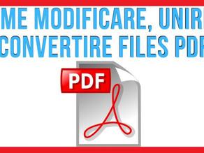 Come unire, dividere, ridurre il peso dei files PDF e tante altre funzioni gratuite