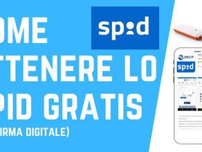Come ottenere lo SPID gratis (procedura con firma digitale/CNS)