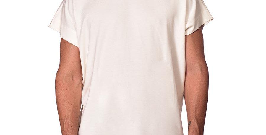 Bluson semi-oversized marfil