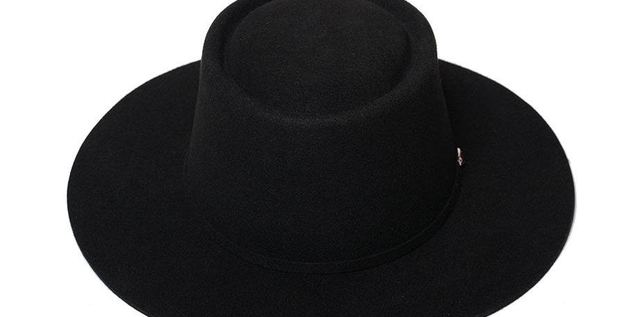 Sombrero cordobes negro basico