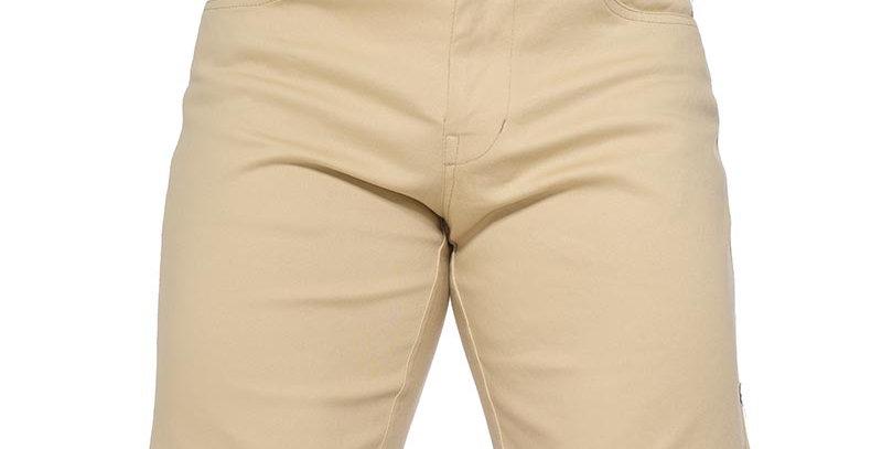 Short beige claro basico