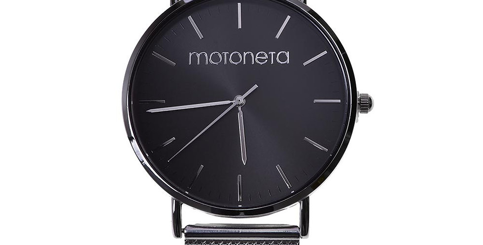 Silver watch motoneta