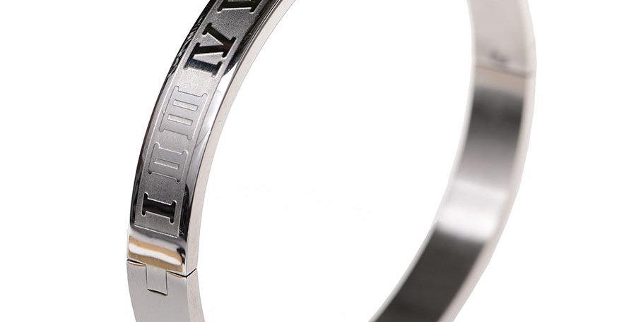 Romanos bracelet silver