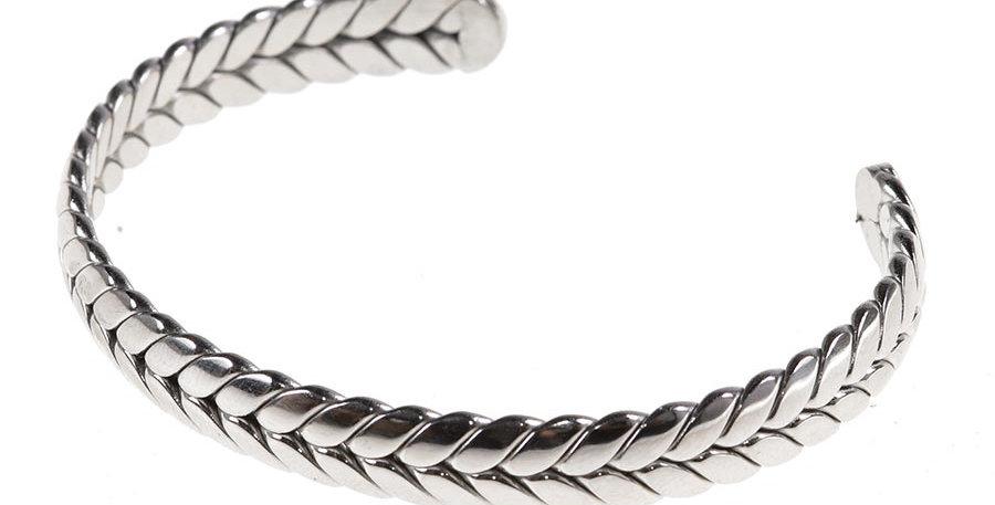 Olives bracelet silver