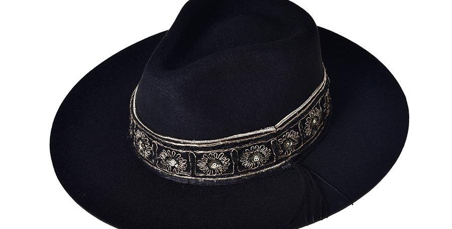 Sombrero tolum negro