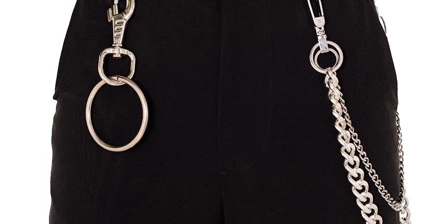 Accesorios pantalon doble cadena y aro