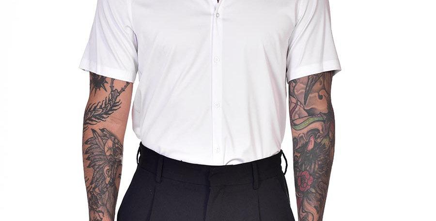 Camisa super slim blanca