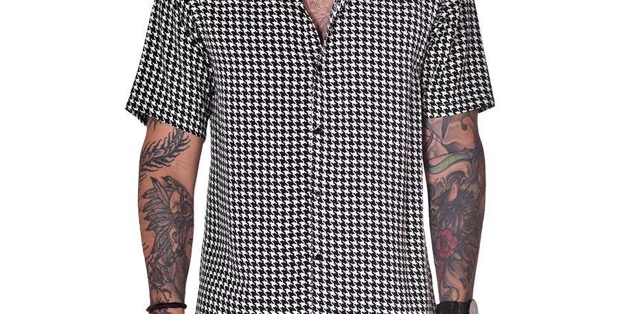 Camisa regular fit gallineto