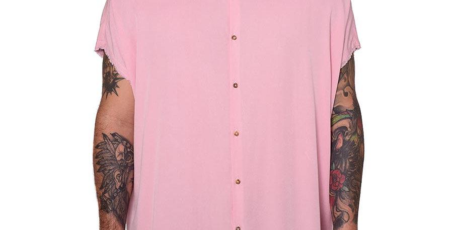 Bluson oversize palo de rosa