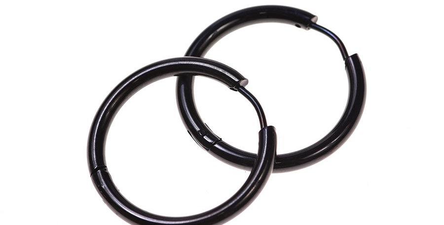 Arete redondo 26mm negro