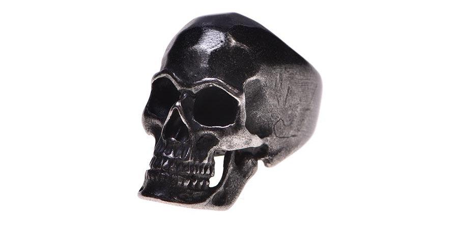 Black cranium ring