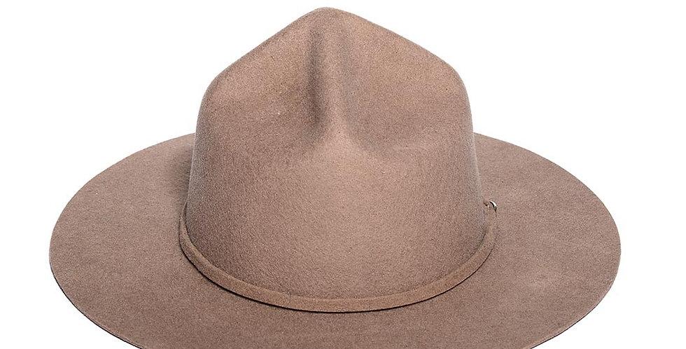 Sombrero policia canadiense color beige
