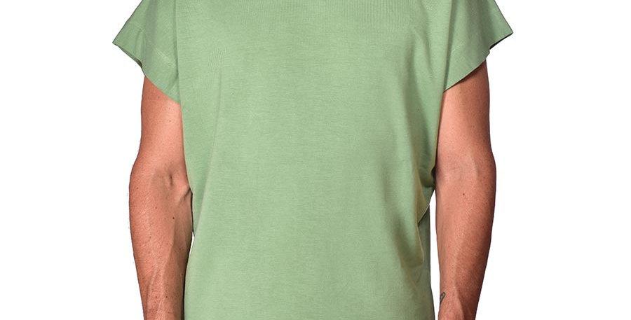 Bluson semi-oversized verde pastel