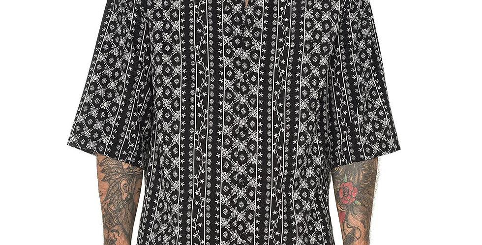 Bluson semi-box boho in black