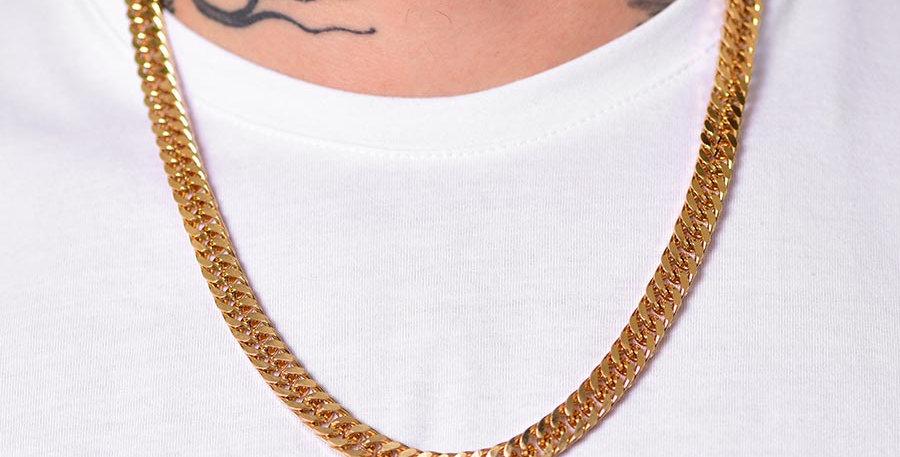Cadena vogue gold 10mm