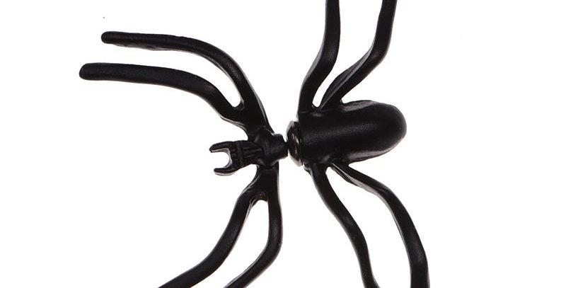 Arete spider negro