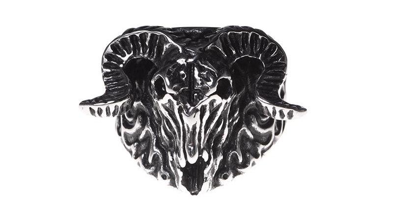 Goat devil ring
