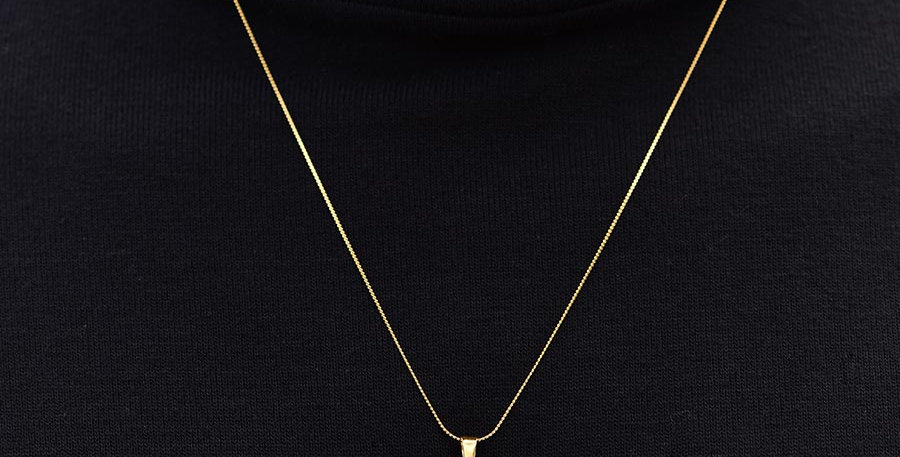 Collar benedict dorado 60cm