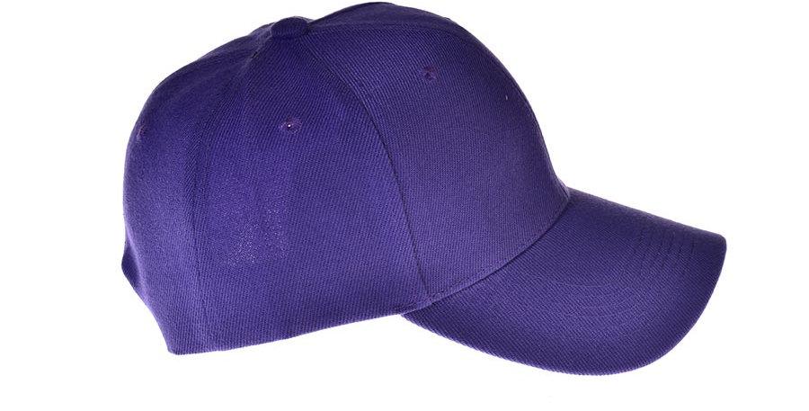 Gorra beisbolera violeta basica