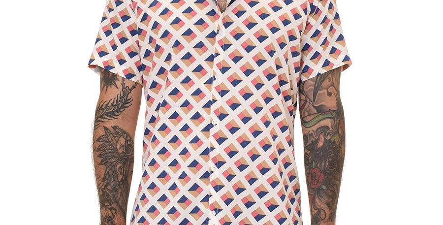 Camisa regular fit cubica
