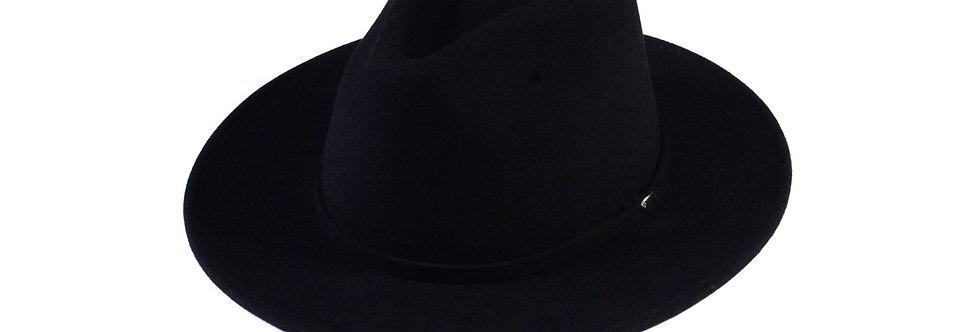 Sombrero western negro fedora
