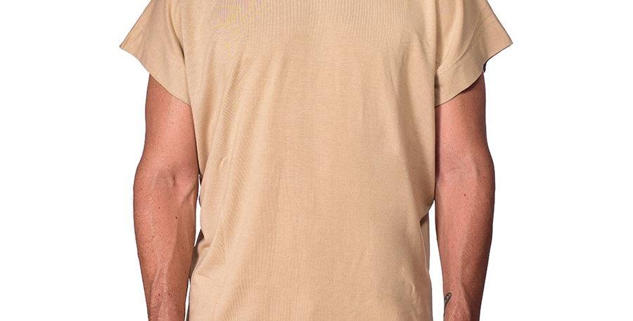 Bluson semi-oversized beige