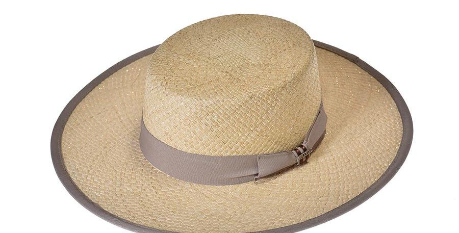 Sombrero bolero yute