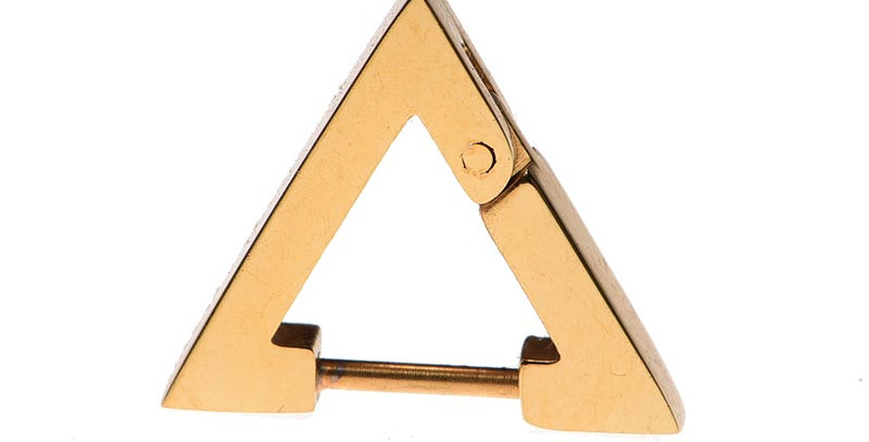 Arete triangular dorado
