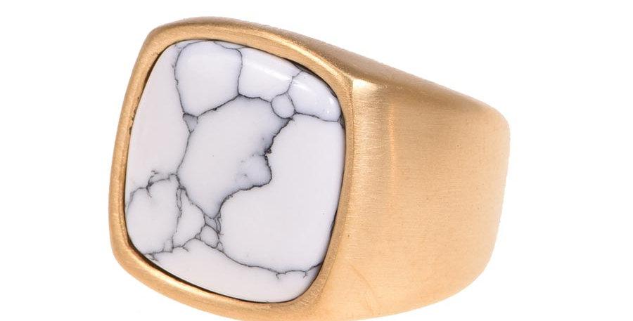 Anillo Roca de marmol