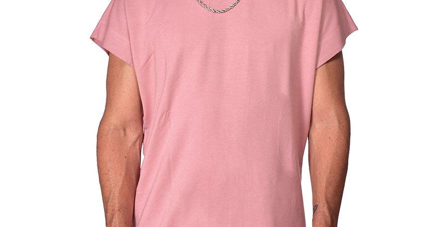 Bluson semi-oversized rosa