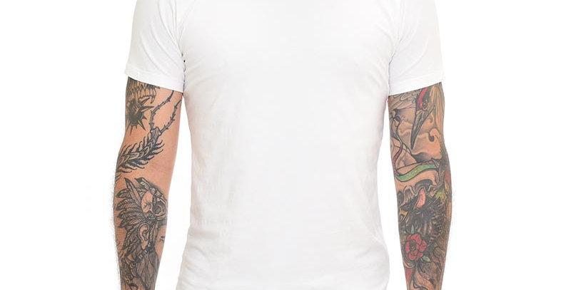 Camiseta super slim básica blanca