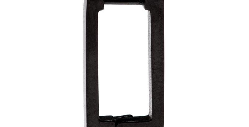 Arete rectangular negro