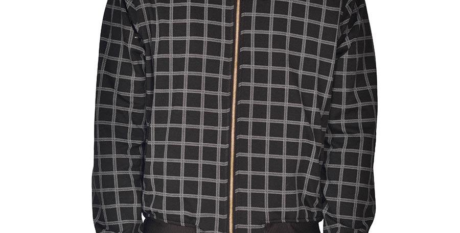 Bomber jacket cuadros set