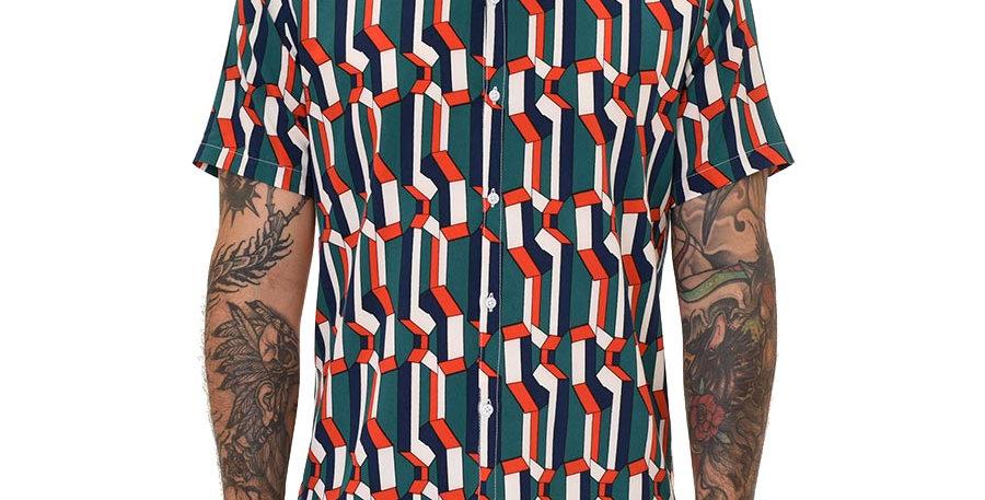 Camisa regular fit colors chain