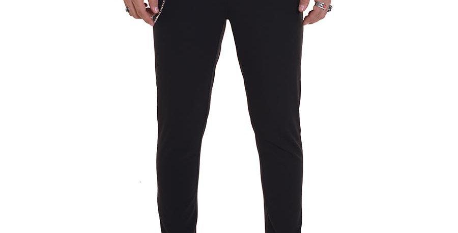 Pantalon carrot fit negro